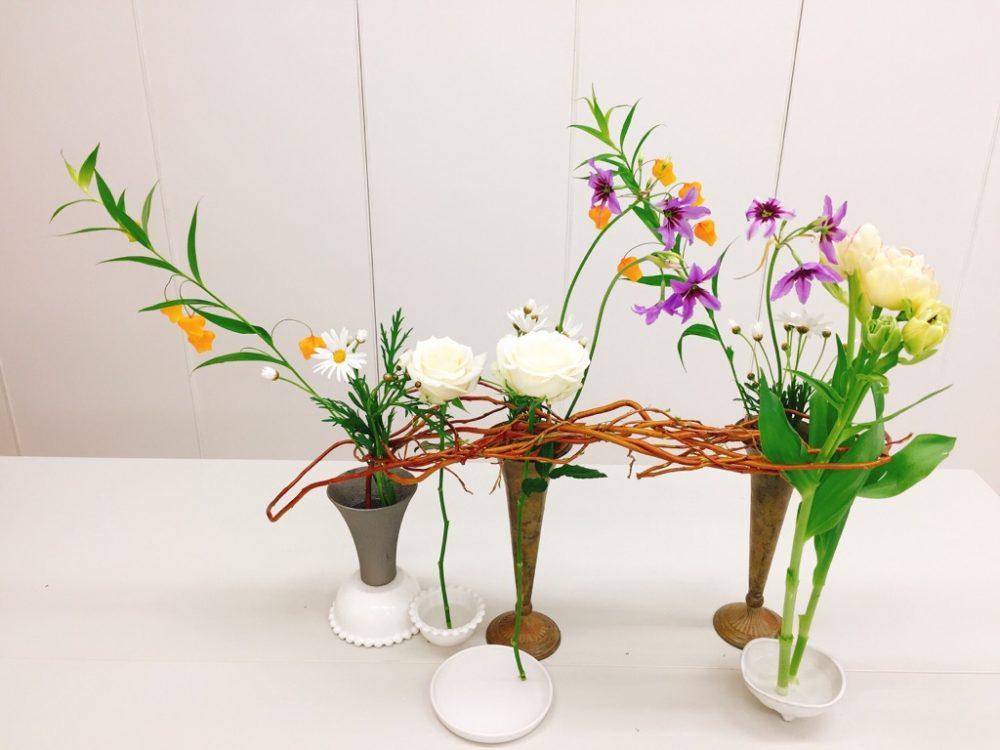 花くばりプログレス<テーブルの花Ⅰ>