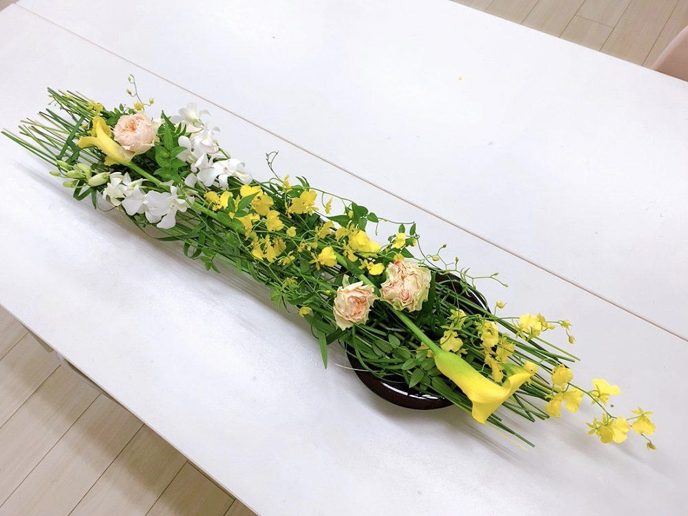 花くばりプログレス<テーブルの花Ⅱ>
