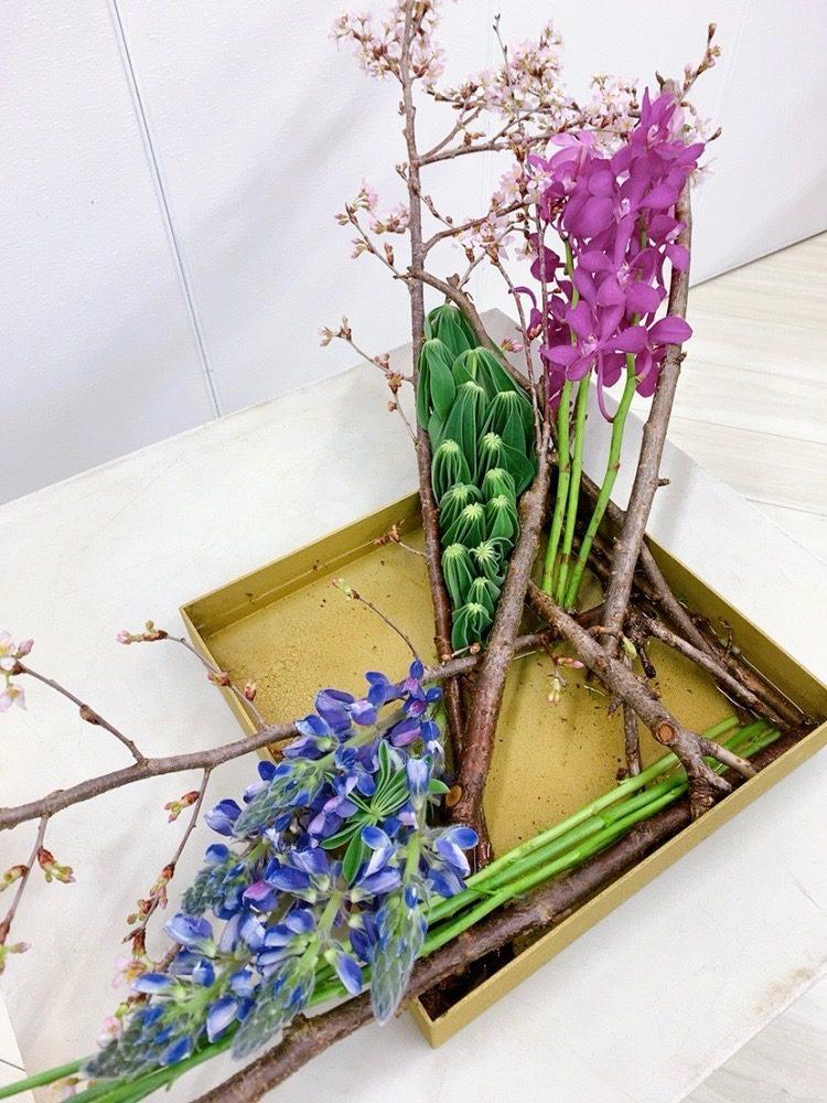 研究科2年3級<花木のデザインⅡ>
